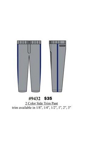 2 -Color  Side Trim Pant