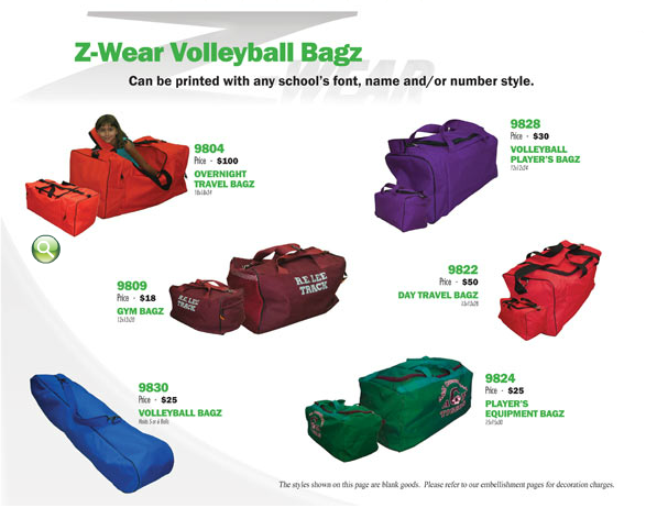 volleyball-bags