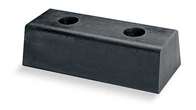 Houston Dock Air SealMolded Rubber Dock Bumper Rectangular