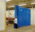 Houston Industrial Upholstery - Industrial Curtain